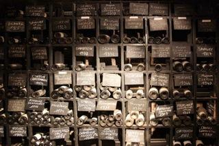 Burgundy cellar