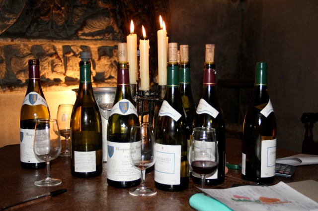 Tastings of Premier Cru and Grand Cru wines