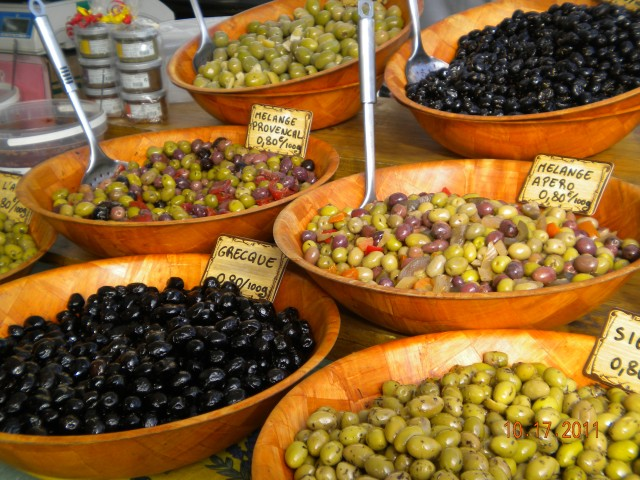 Tour France regions of France Provence Food