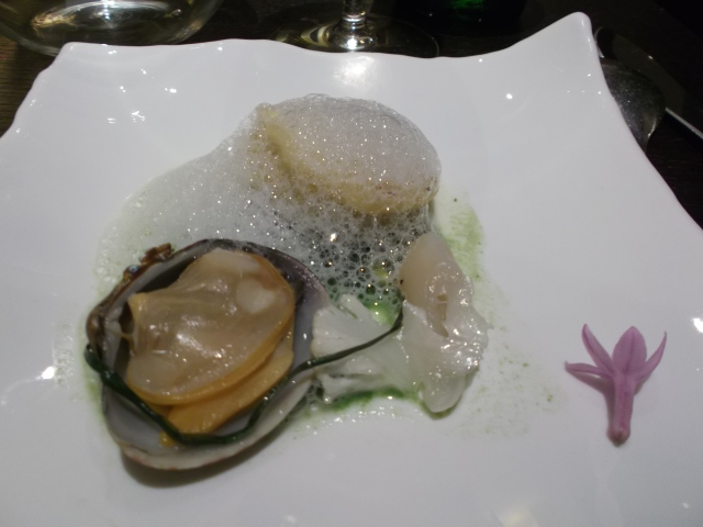 Pair this with something truly elegant, like this creative seafood dish, from our June 2012 trip to Paris.
