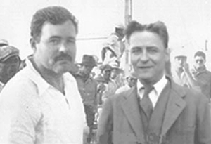 A rare glimpse of Hemingway and Fitzgerald in Paris