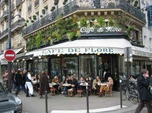 Cafe de Flore has been around since Fitzgerald's time.