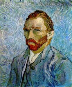 One of several self-portraits van Gogh painted in Provence.