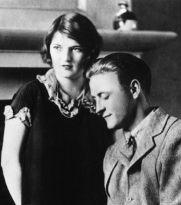 Zelda and Scott Fitzgerald early on in their tumultuous marriage.