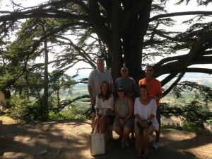 Hiking to the Ancient cathedral on top of a perched village was one of the group's favorite moments in July!