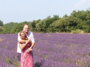 Our clients loved to stop in the lavender fields when we passed them!