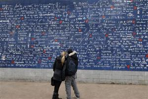 "The ""I Love You wall"" in Paris is a beautiful reminder of your loved one!"