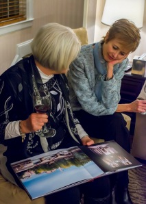 Past clients brought books of pictures from their Bliss trips to reminisce.
