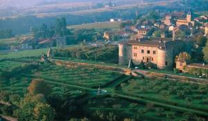 The Rhone Valley is known for its gorgeous castles and stunning hill views.